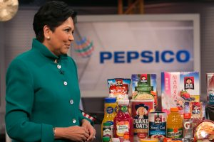 Indra K. Nooyi presided over a significant expansion of PepsiCo's business, with revenue growing to $63.5 billion last year, from $35 billion in 2006, when she took the helm.